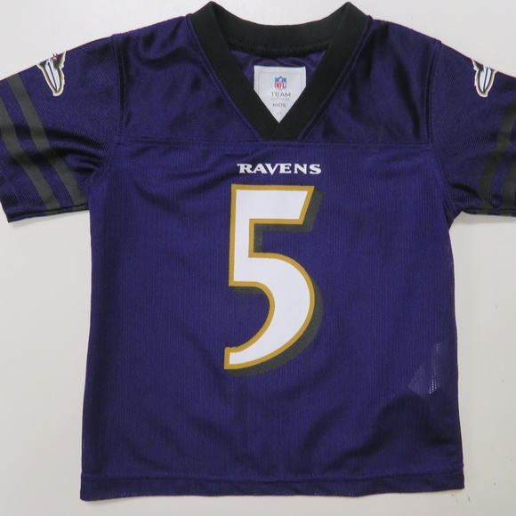 quality design 45939 7a1ad Joe Flacco #5 Baltimore Ravens Jersey 3T Toddler